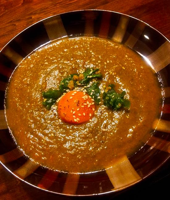 Curried Lentil Kale Soup