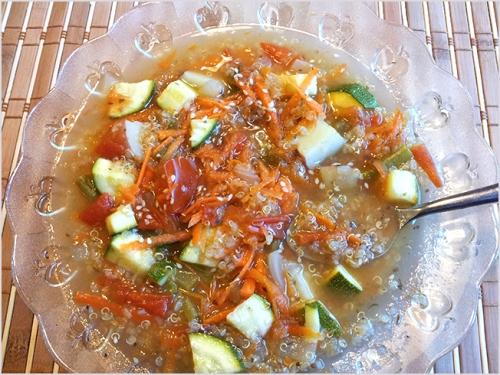 Quinoa Vegetable Soup