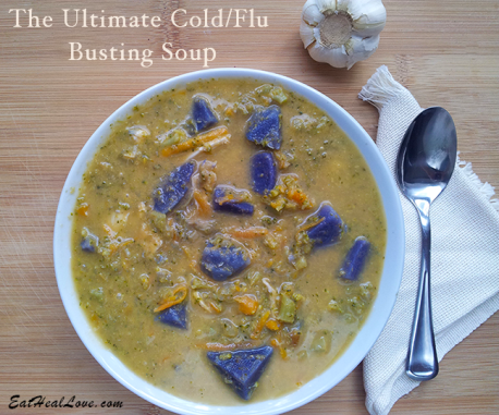 Flu busting soup